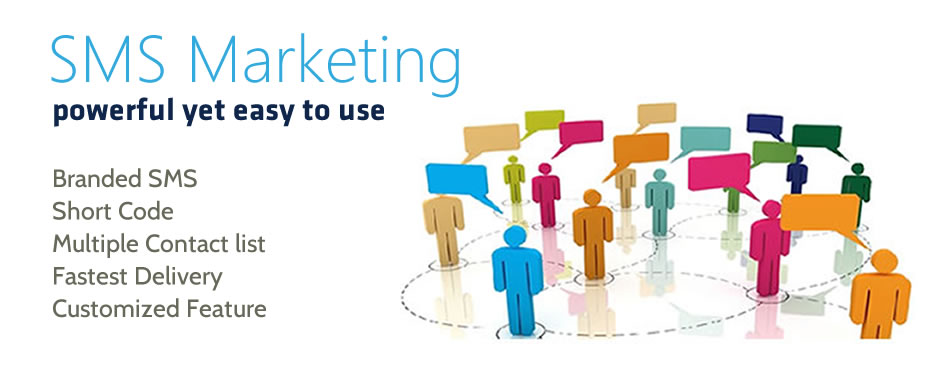 SMS Marketing with lots of features and customized options